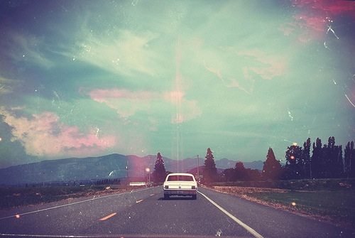 alone, antique, back home, blue, car, clouds, colors, driving, free, infinite, mountains, old, old car, paradise, photography, road, sky, speed, summer, wild, baby its cold outside