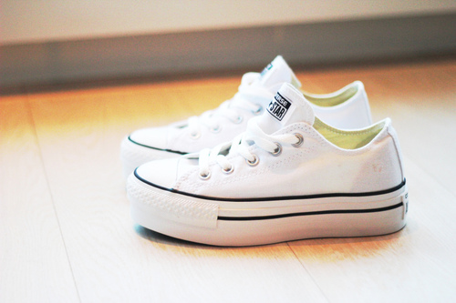 all stars, beautiful, converse, cute, fashion, sneakers, white