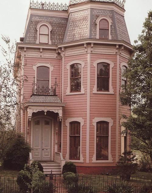 home, house, pink and sweet