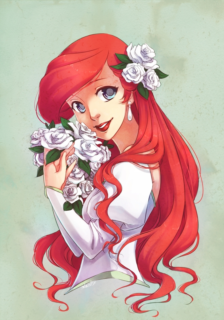 ariel, cute, disney and girl