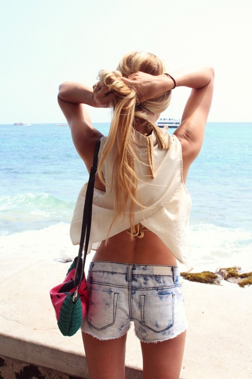 beach, body, fitness, lovely, sea, shorts, summer, sun