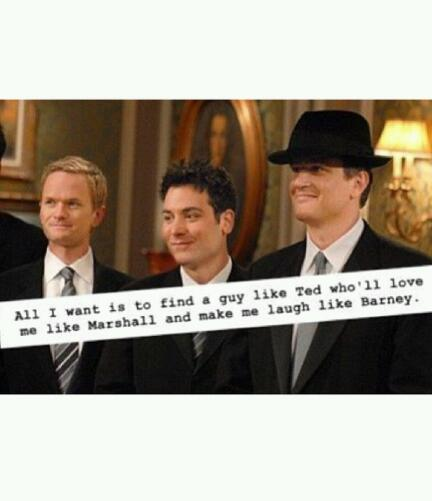 barney stinson, himym, how i met your mother and lily aldrin