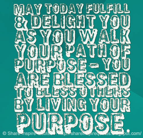 blessed, life, purpose and quotes