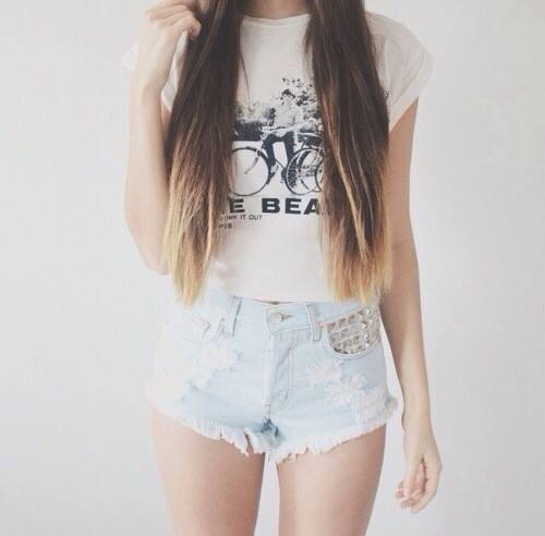 beat, denim, fashion, girls, girly, hair, jean