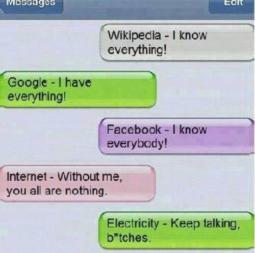 funny, google, lol and eletricity