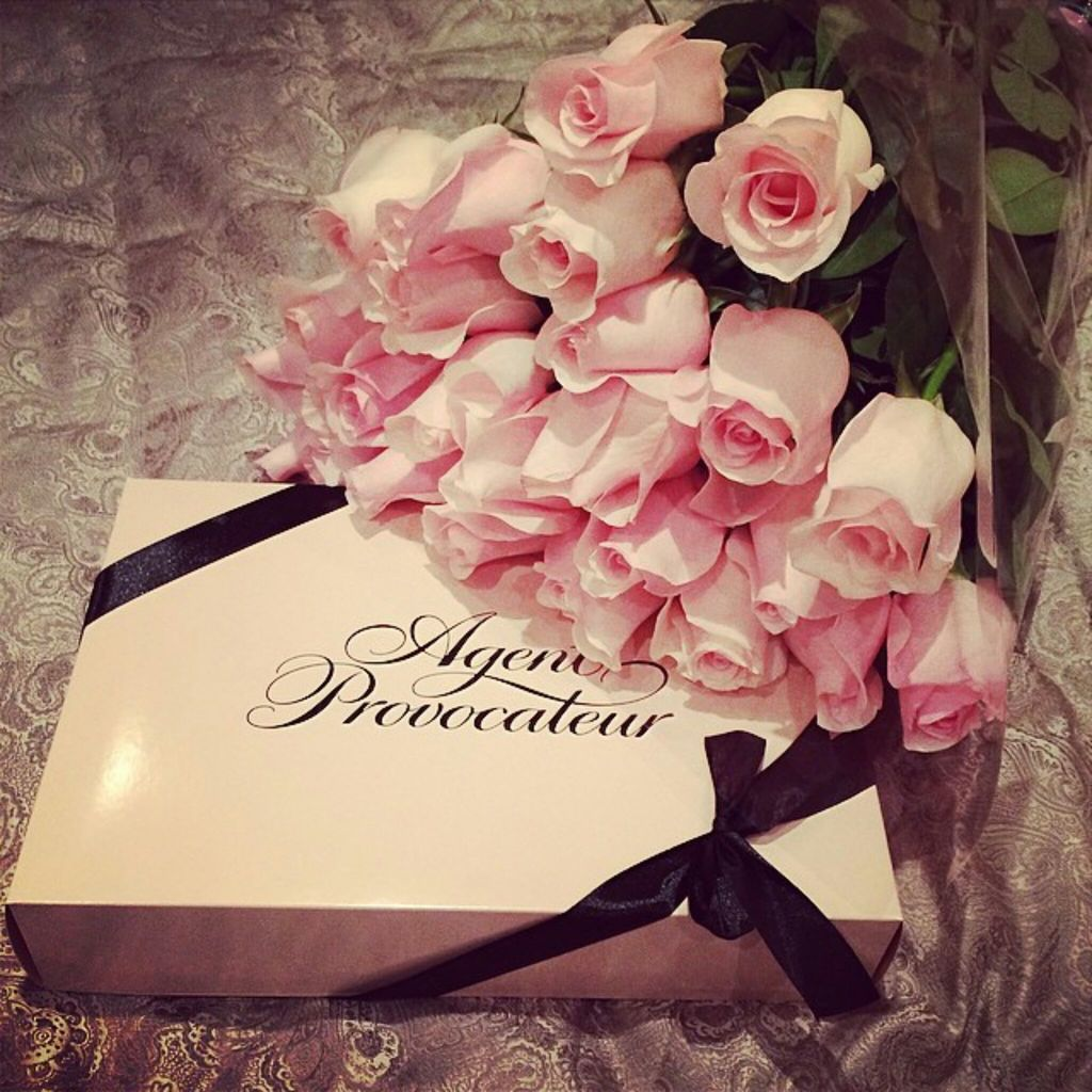 agent provocateur, flowers, gift and girly