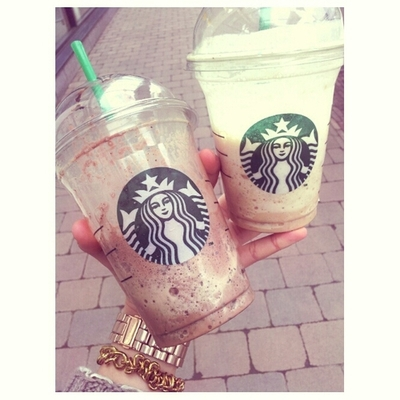 accessories, fashion, frappuccino and girly