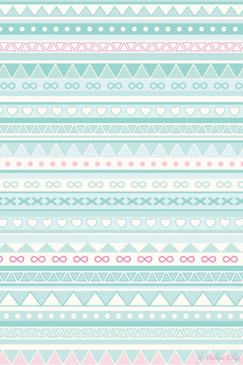Blue Pink Tribal Background Image 1830691 By Saaabrina On