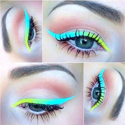 awesome colorful colors cute dream endless eyelashes #1: awesome colorful colors cute Favim