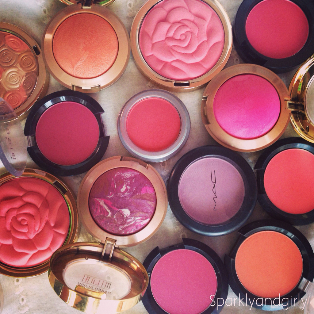 beauty, blush, blushes and cosmetics