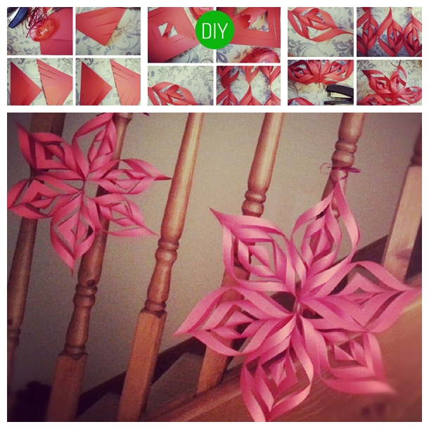 How To Make A 3d Paper Star Decoration Image 1947312 By Ksenia L On