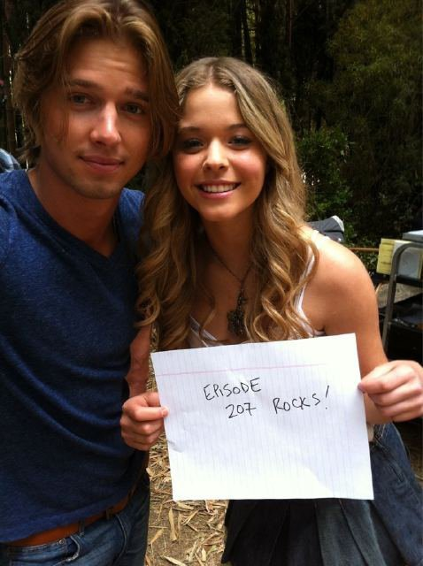 alison dilaurentis, blonde, brother and sister and drew van acker