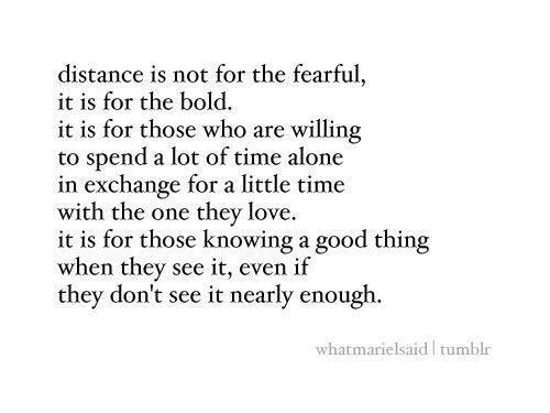 Quotes About True Love And Distance distance, love,...