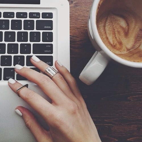 beautiful, coffee, fashion, girl, nails, pretty, trends, tumblr