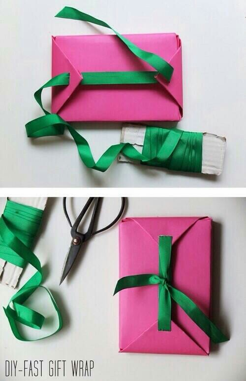 Diy Fast Gift Wrap Image 1995372 By Lady D On