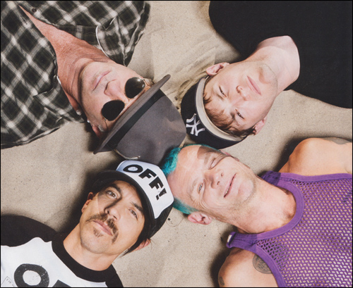 anthony kiedis, red hot chili peppers, rhcp and rock
