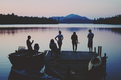 Summer friends tumblr image 2014162 by taraa on for Best boat for fishing and family fun