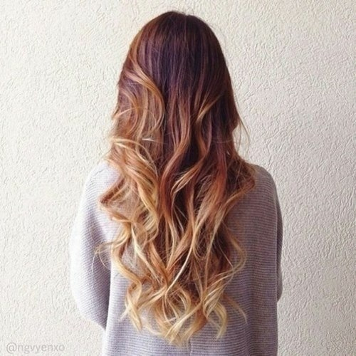 curly hair, fashion, goals, hair, hipster, ombre, tumblr girl, tumblr ...