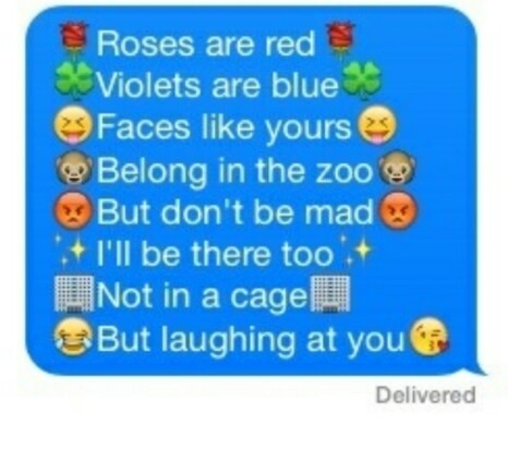 funny, lol, poem and roses are red