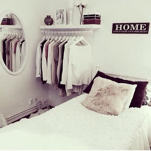 beautiful, bed, blouses, clothes, cool, enterior, fashion, girls, home, house, mirror, outfit, photography, pillows, shirts, style, teens, bedrooms tumblr, teen bedrooms