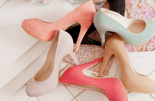 rosy, scarpin, shoes and love scarpin