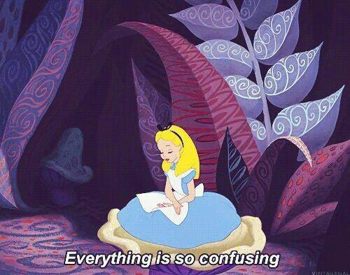 good thesis for alice in wonderland