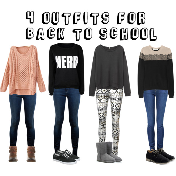 Back To School Fall 2014 Clothes Back to school outfits