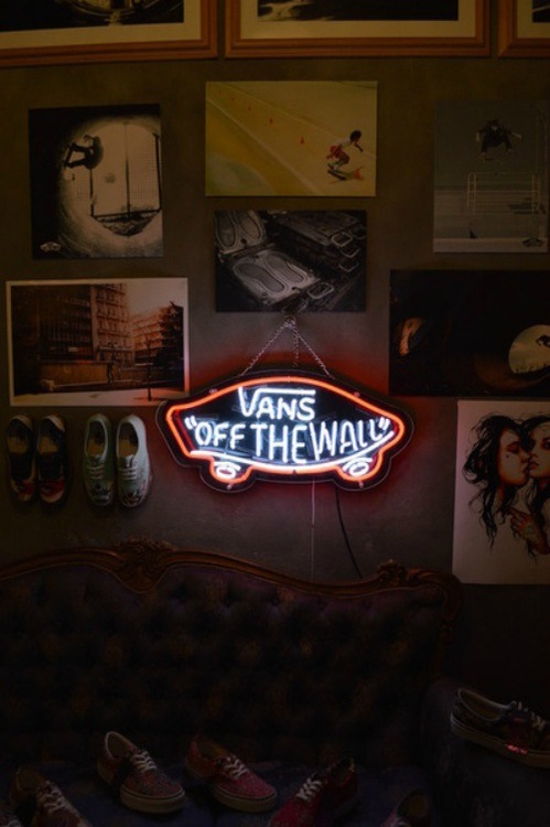 vans off the wall sign for sale