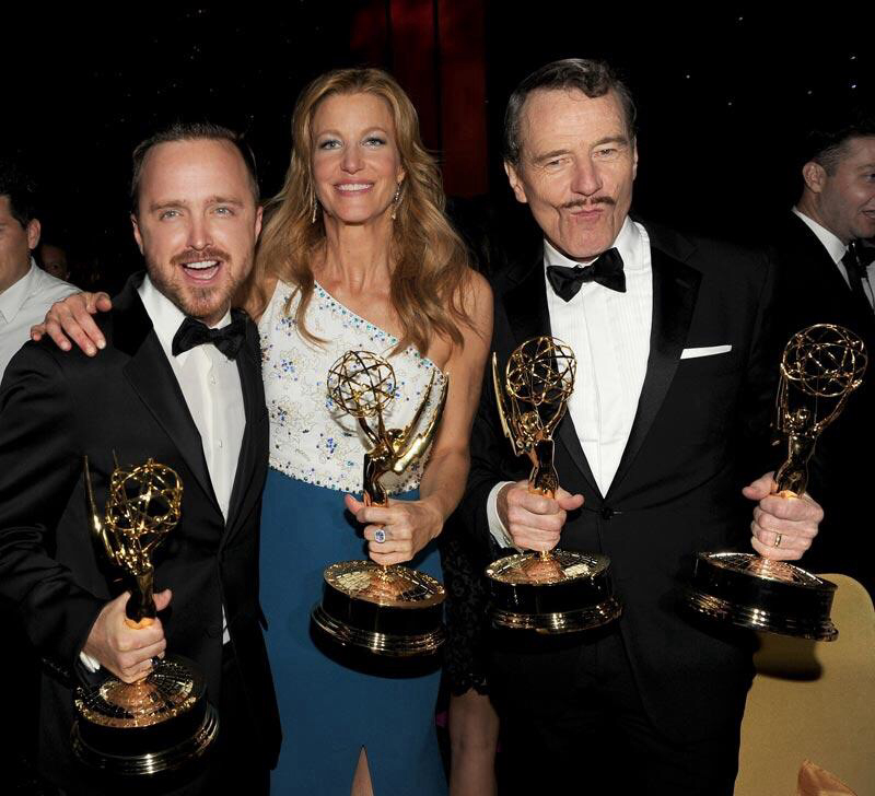 aaron paul, awards, breaking bad and emmy