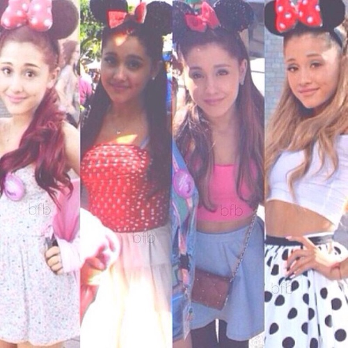 ariana grande disney world in image 2149792 by patrisha on Favim