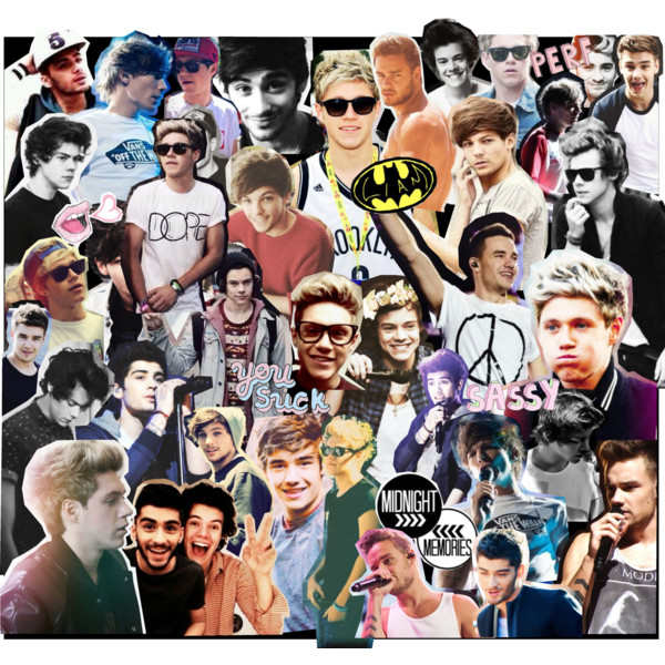 collage harry styles i love one direction liam payne louis Car Tuning