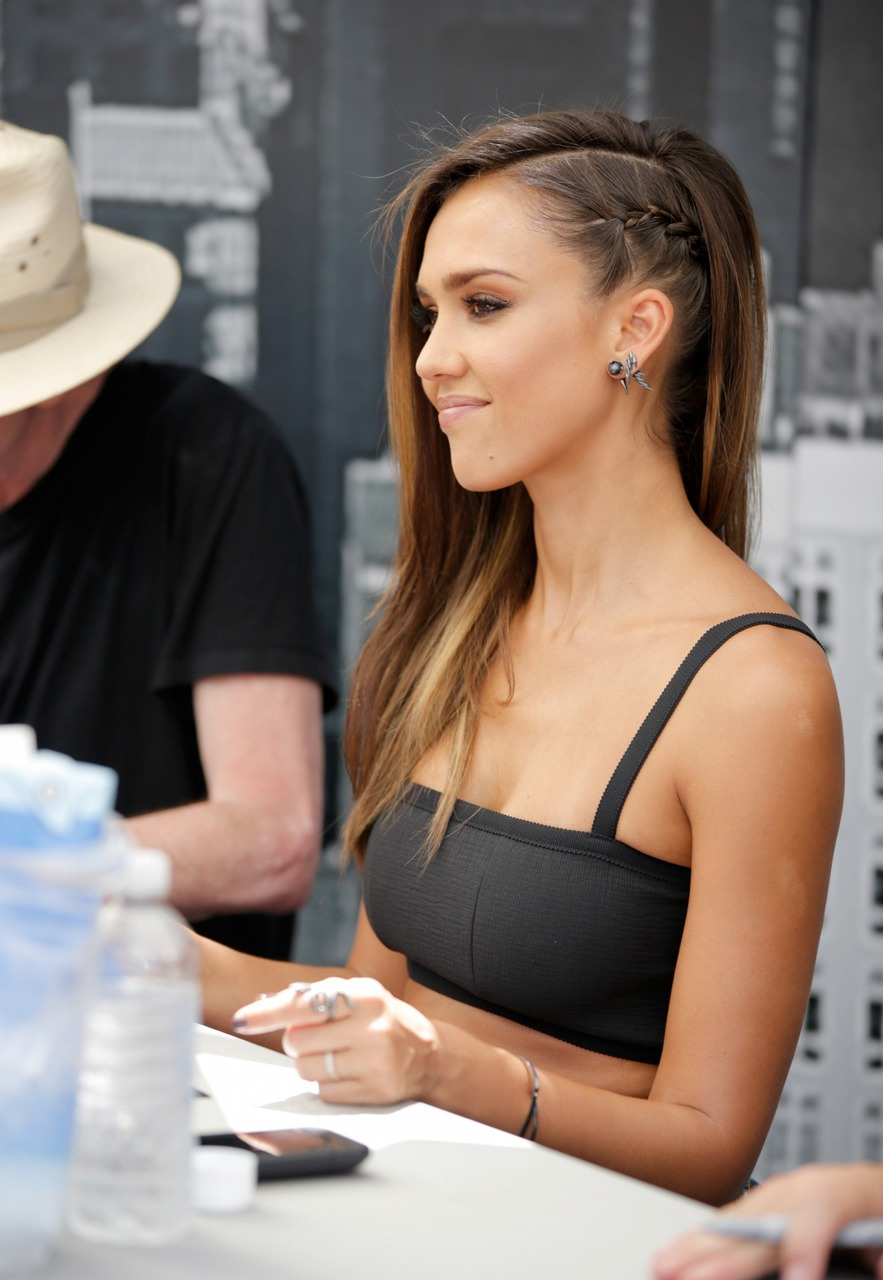 beauty, braid, fashion, girl, girls, hair, hipster, jessica alba, perfect, tumblr