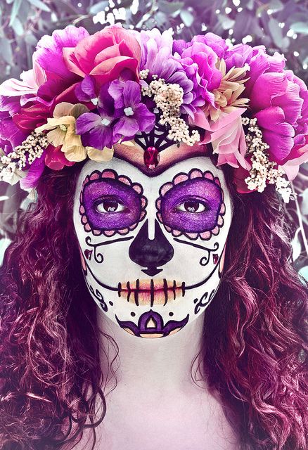 Sugar Skull Make-Up - image #2186551 by Maria_D on Favim.com