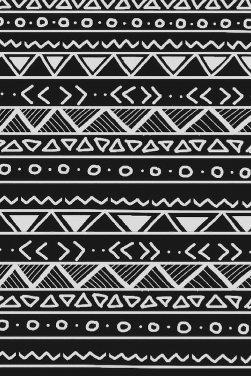 Cute patterns tumblr black and white