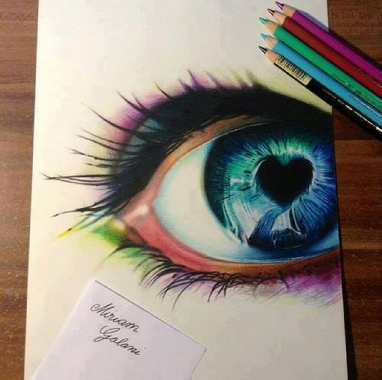 color, draw, drawing and eye