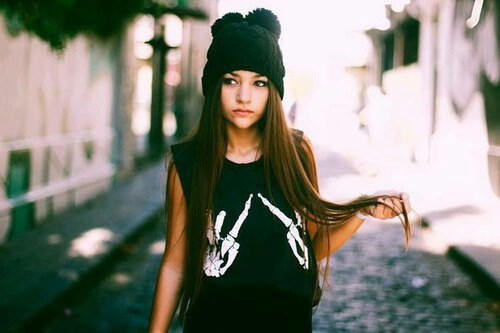 Brown Hair Fashion Girl Hipster Hipster Clothes Hipster Fashion Hipster Style Inspiration