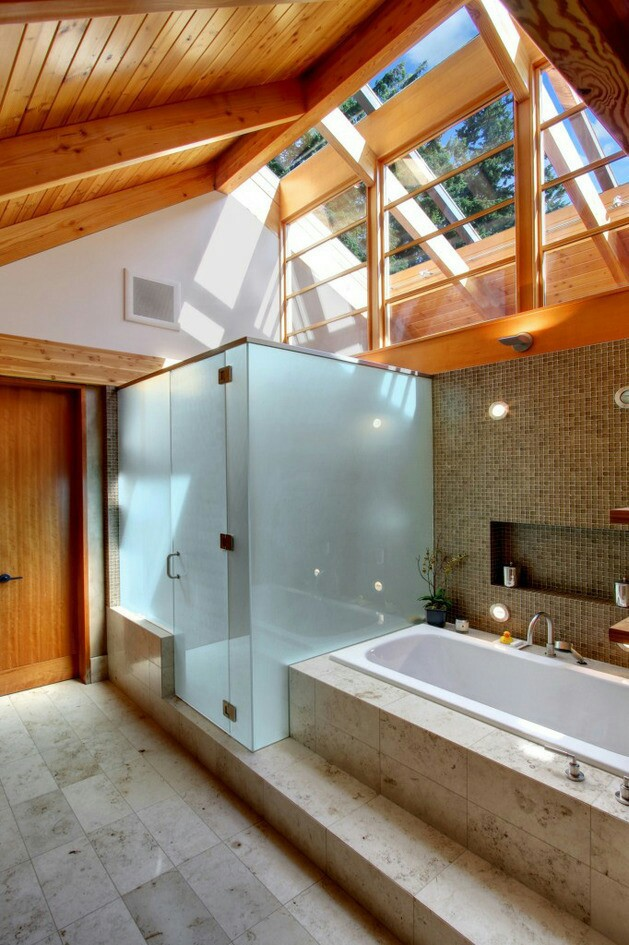 bathroom, design, house and interior