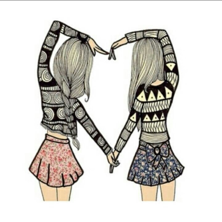4ever, best, blouses, drawing, friends, girls, heart, lovely, shirts