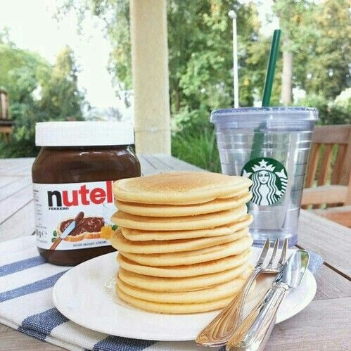 amazing, american pancakes, breakfast and chocolate