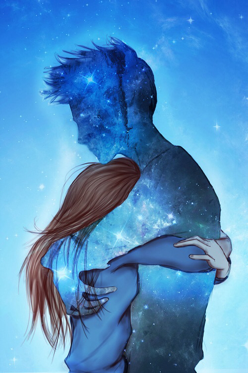 Background Cute Galaxy And Love Image 2365632 On Favim Com