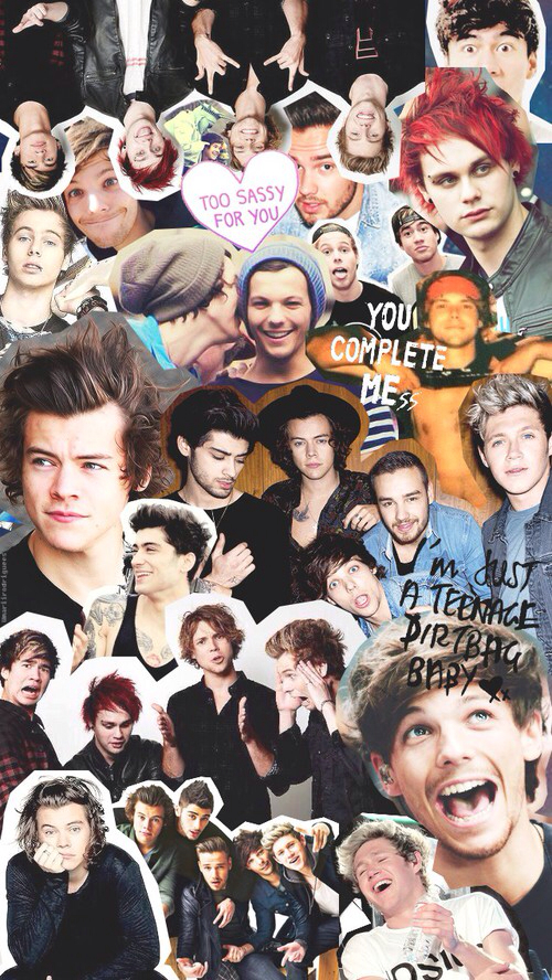 Collage de one direction 2015 - Imagui