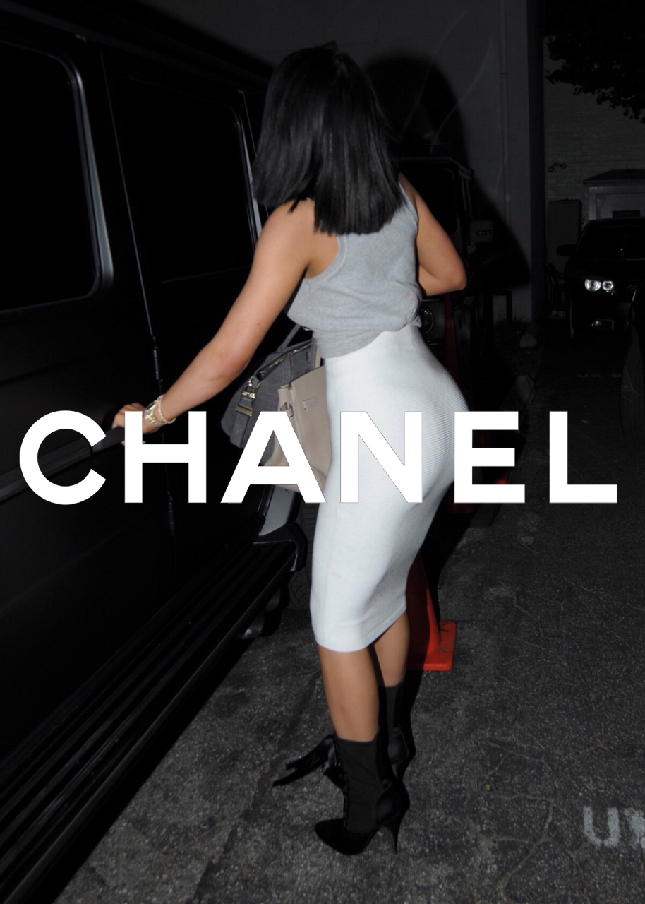 beautiful, black hair, chanel and kylie jenner