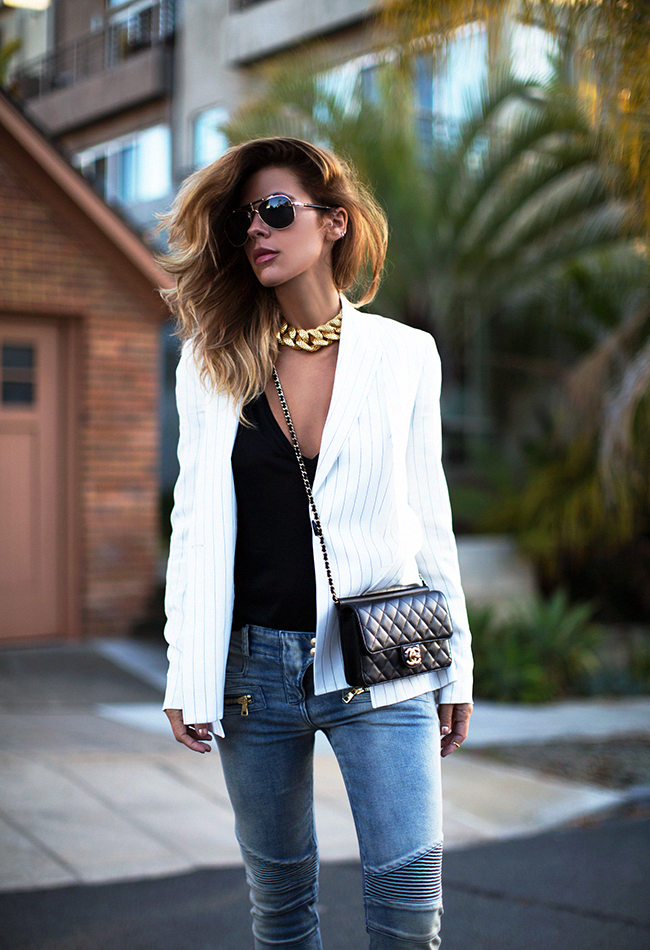 accessories, bags, black, chanel, chic, clothes, denim, denims, fashion, girl, girls, look, luxe, outfits, street style, style, wear, white, woman