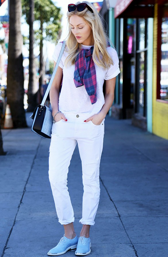 accessories, bags, blonde, blue, clothes, cool, denim, denims, fashion, girl, girls, outfits, street fashion, street style, style, white