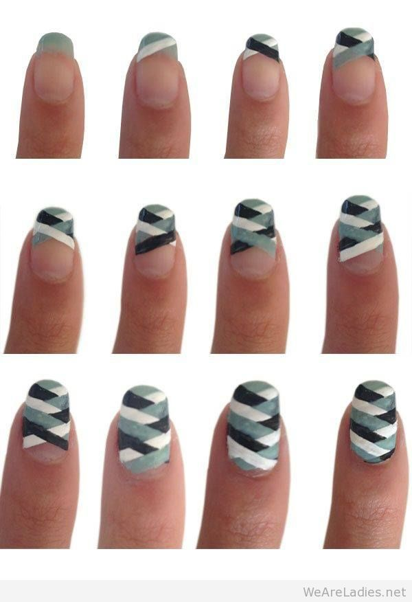 How To Make Lovely Nail Art Step By Image 2623562 By Missdior On