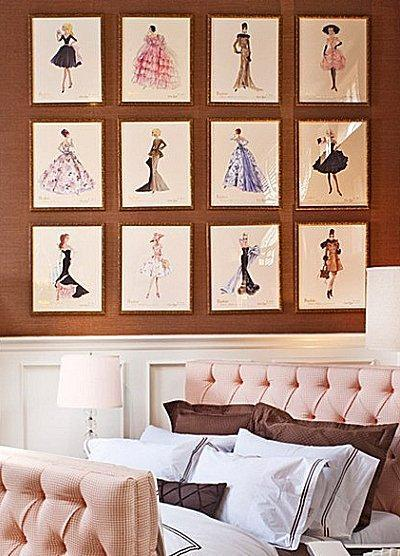 Bed room some small shaped picture frame nice image 2622263 by marky on - New york girls room ...