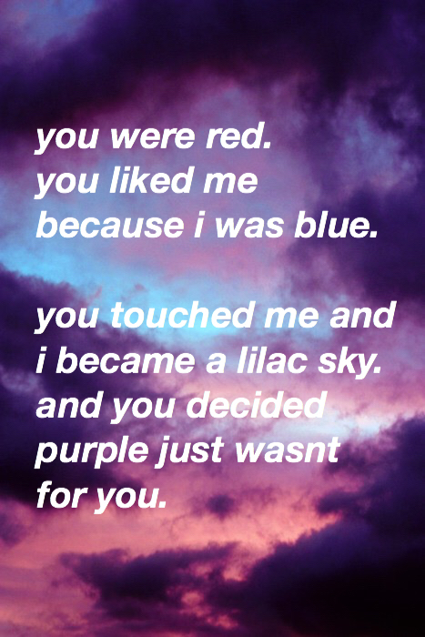 aesthetic, aesthetics, beautiful, blue, clouds, colors, grunge, indie, life, lilac, lyrics, mine, purple, quote, quotes, red, sky, sunset, halsey