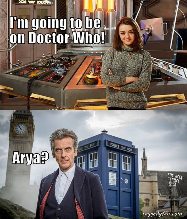 Meanwhile in britain doctor who