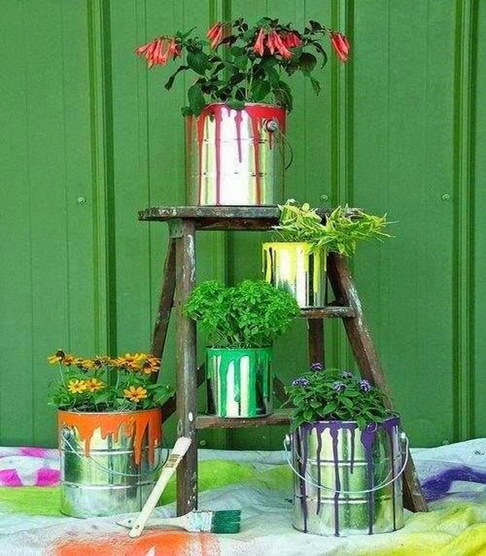 Recycled Crafts, DIY Garden Decor, Garden Decor Crafts and Recycled Garden Decor