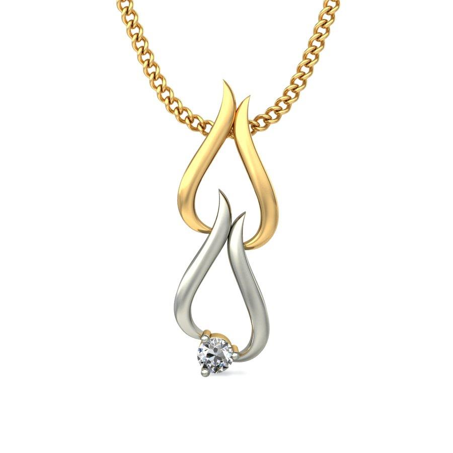 Yellow Gold Pendant, 18k Diamond Pendants, buy 18k Diamond Pendants and buy 18k Diamond Pendants in India